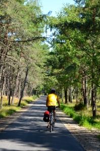 Kurische Nehrung, Cycling