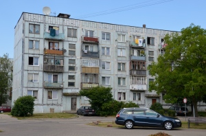 Liepaja, Buildings of the Stalin Area