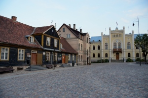 Kuldiga, old buildings