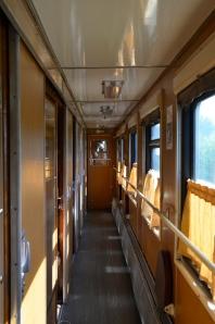 Inside the train