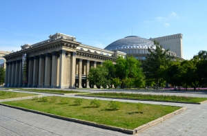 Novosibirsk Theatre: the only sight of Novosibirsk