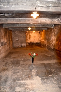 Gas Chamber in Ausschwitz/Birkenau where more than a million of people were killed