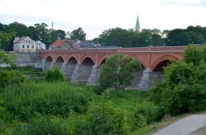 Kuldiga, famous bridge