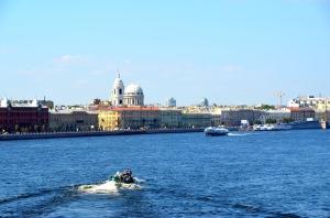 Boat Trip on River Neva