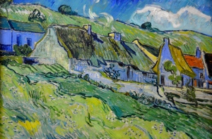 Hermitage Museum / one of the last paintings of Vincent Van Gogh