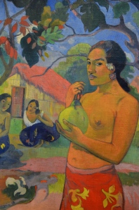 "Hermitage / Paul Gaugin (""la femme auf fruit"")"