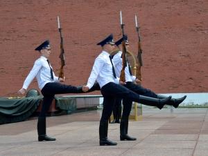Change of guard, Kreml