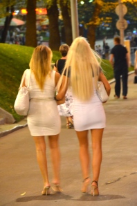 """Russian girls were born with high heels & mini skirt"""