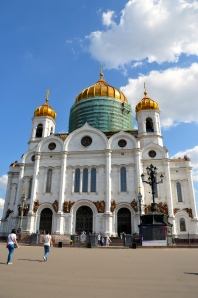 This is the church where Pussy Riot performed their Anti-Putin-Song