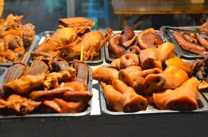 pork noses - a very famous food!