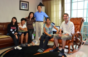One of our very very best Korea-memories: Our Host-Family in Seoul