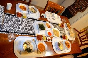 comida typica en korea
