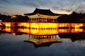 Tempel bei Gyeongiu