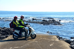 Scooter Tour in Jeju Island
