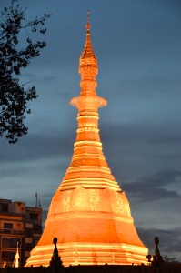 Pagoda, Yangon