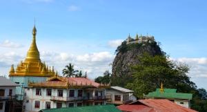 Mount Poppa, Bagan