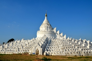 Pagoda, close to Sagaing Hill