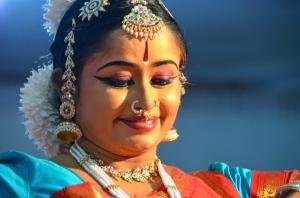 Fest im Tempel (Tänzerin)