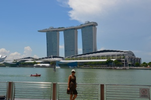 Beautiful architecture in Singapore
