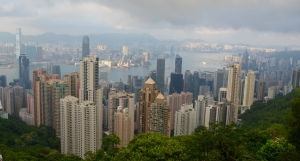 Hong Kong in the day...