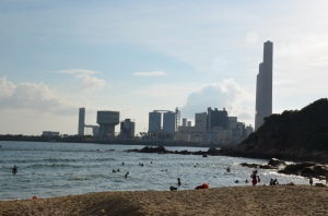 the ugliest beach of the world, made in Hong Kong: