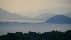 around Hong Kong island