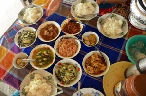Very delicious Myanmar Curries