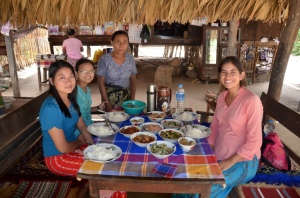 Lunch with friends of Aung Myae Oo and Aung Thun Phios family