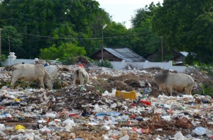 landfill site in Myanmar