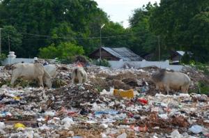 landfill site in Myanmar